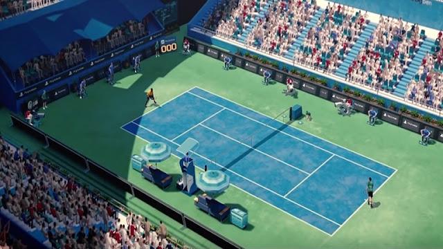 رسميا الكشف عن فترة إصدار لعبة Tennis World Tour