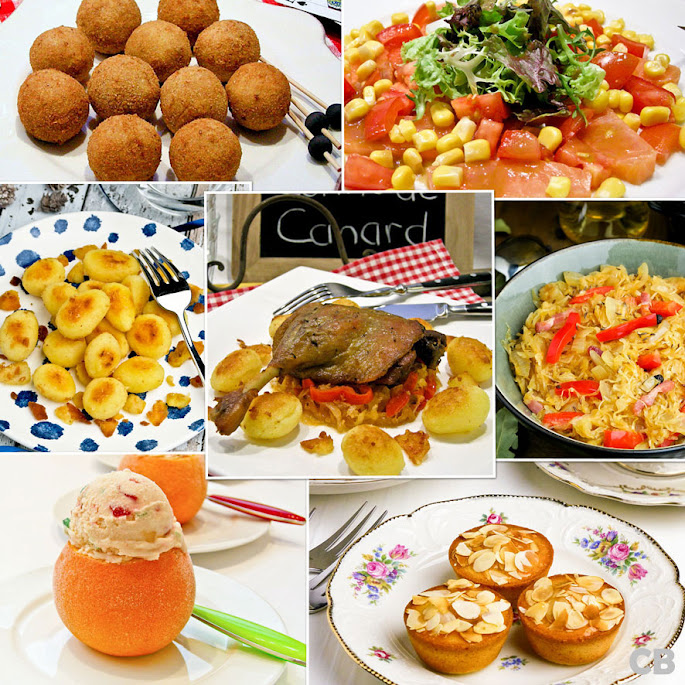 Recepten Frans kerstmenu met confit de canard en meer