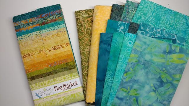 Island Batik Flea Market fabrics
