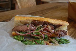 Steak Sandwich with Caramelized Onion