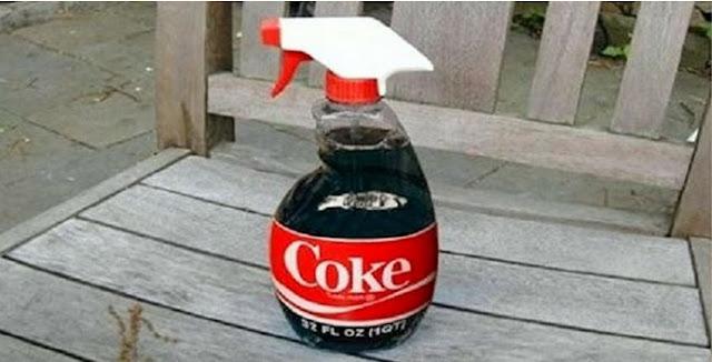 10 Utilidades incríveis para a Coca-Cola