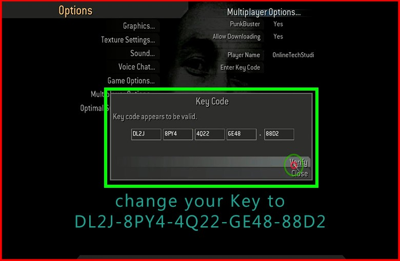 how to play cod4 online without key code