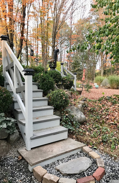 wood exterior stairs