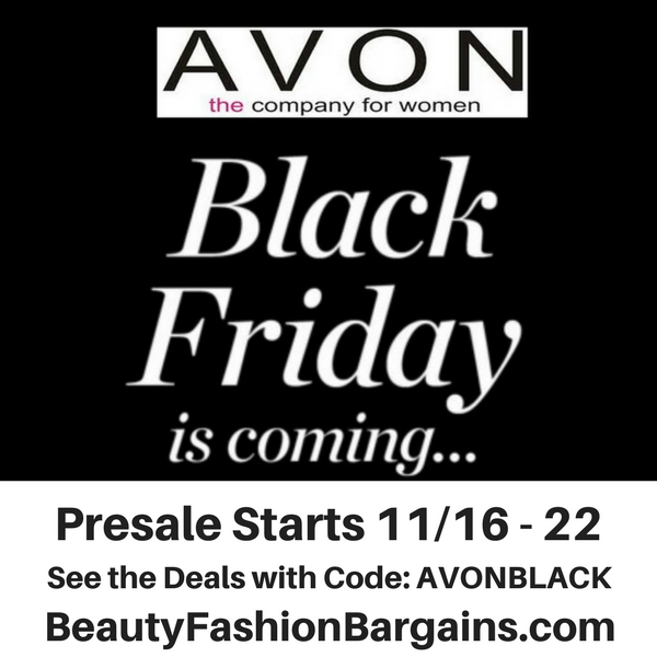 Avon Black Friday Presale