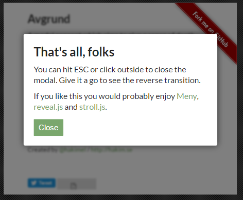 Modal Popup UI Concept Using jQuery and CSS3 - Top jQuery