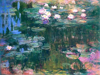 claude monet water lilies