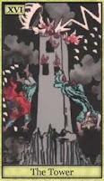 Tarot Yıkılan Kule Kartı