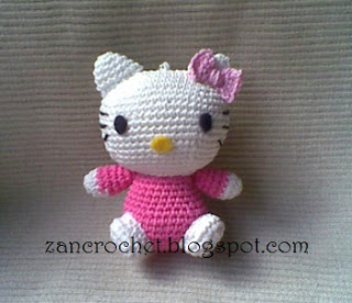 Mini Hello Kitty Amigurumi Patron : Hello Kitty Free Amigurumi Patterns Bloglovin