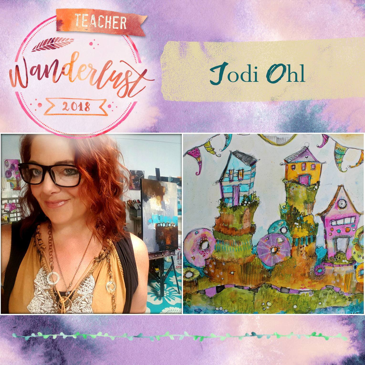 I'm teaching for Wanderlust 2018!