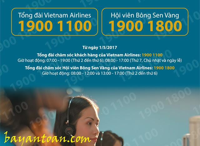 Vietnam Airlines chuyển đổi tổng đài Chăm sóc khách hàng