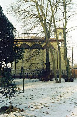 Ο ναός τού Αγίου Σιλουανού στήν Ιερά Μονή Τιμίου Προδρόμου Essex.
