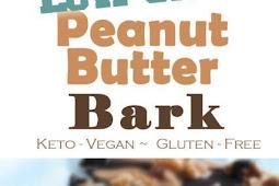 Low Carb Peanut Butter Bark (Keto, Vegan)