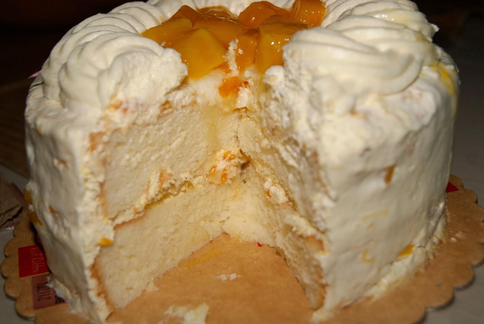 Red Ribbon Mango Cake Icing Recipe