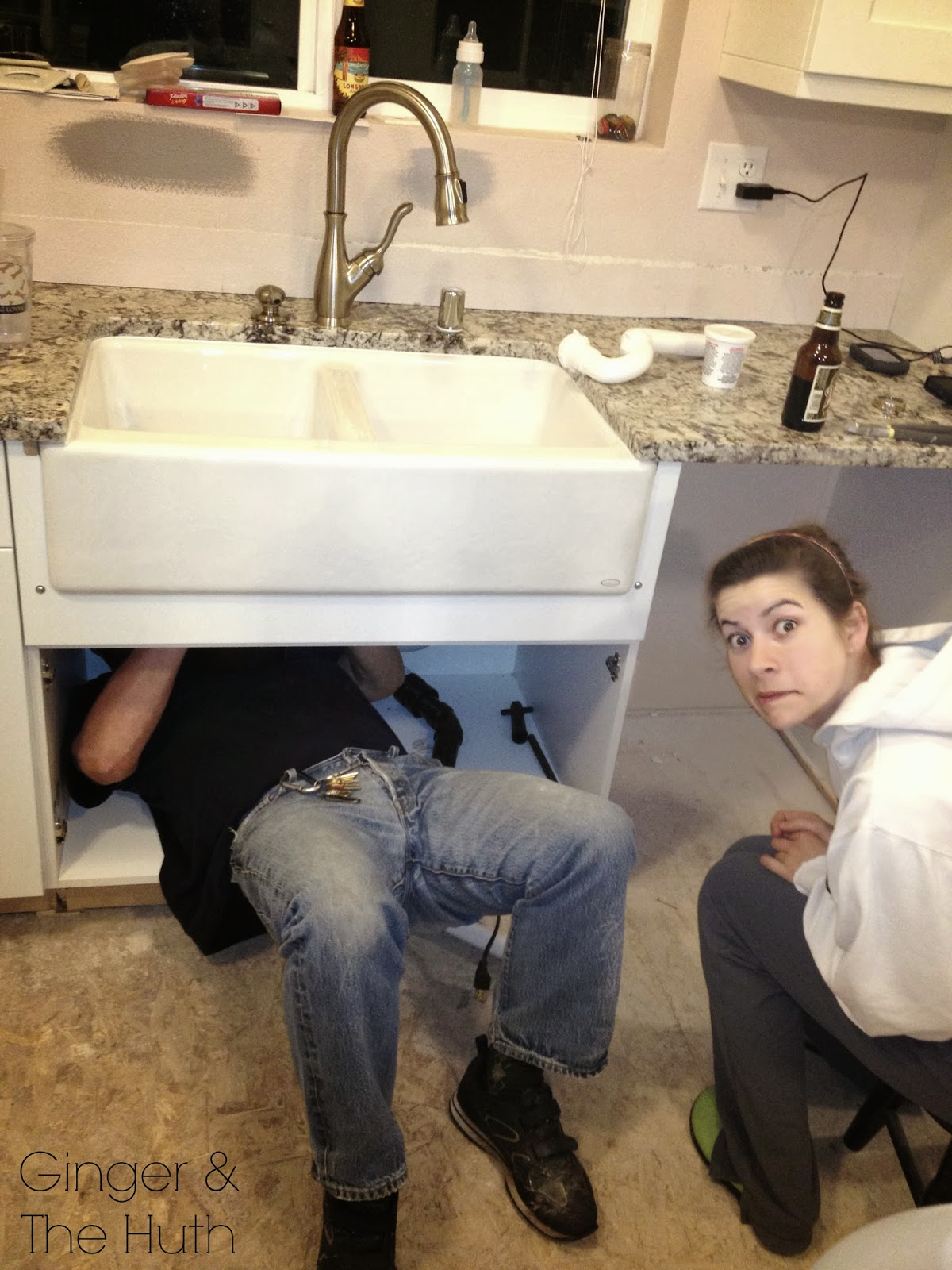 How to Install Farm Sink Granite
