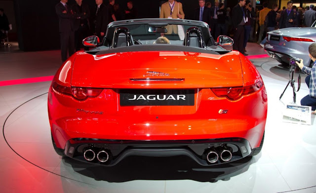 2013 Jaguar F-Type Roadster Rear