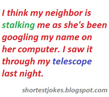 neighbor joke