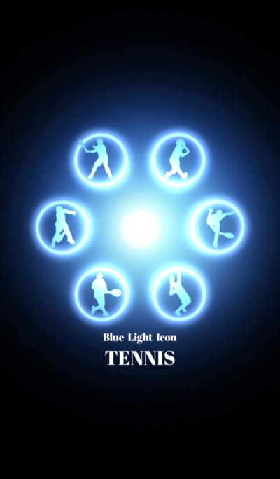 Blue Light Icon TENNIS Ver.2