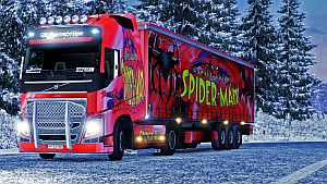 Spider-Man pack for Volvo 2012