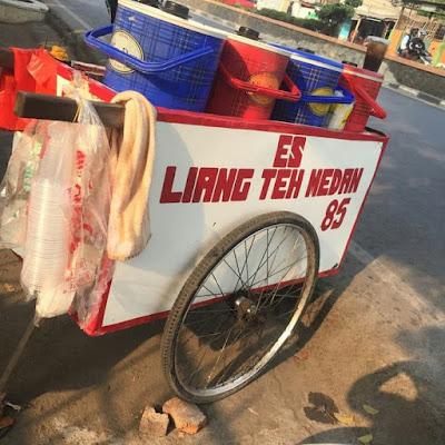 Tutorial Resep Membuat Es Liang Teh Medan