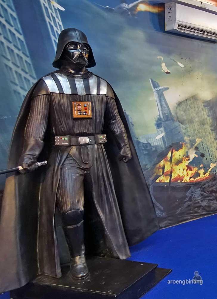 Anakin Skywalker de arca statue art museum yogyakarta