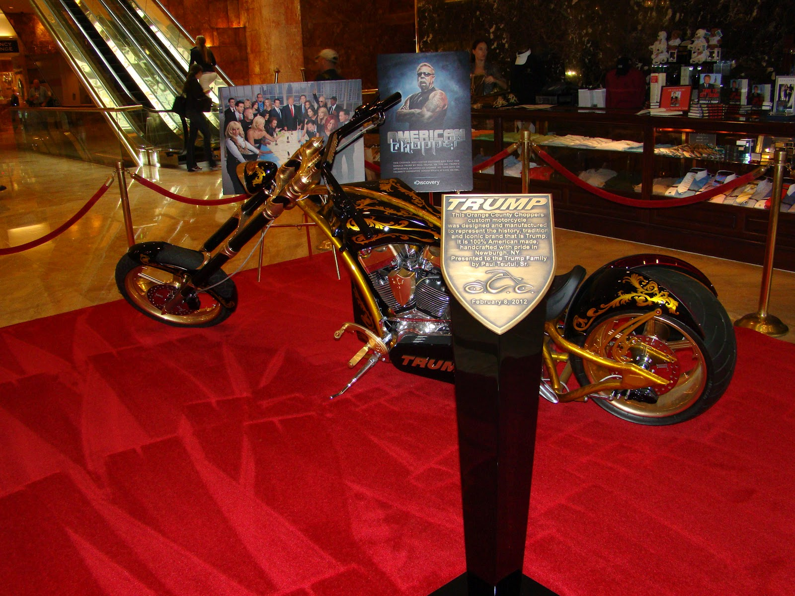 City Chopper York New Motorcycle