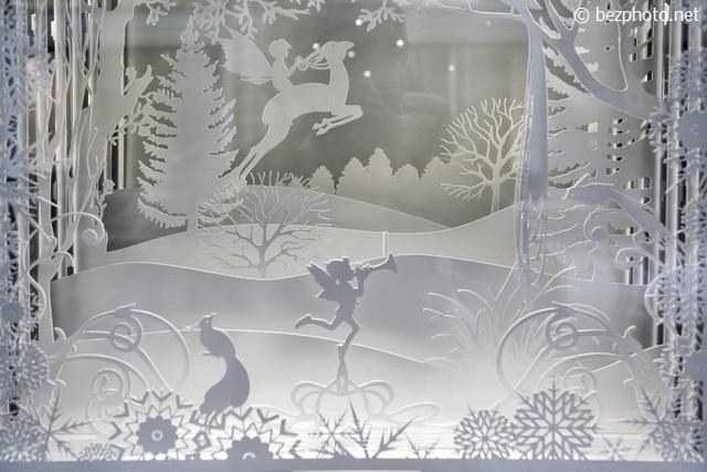 windowdisplay Van Cleef & Arpel moscow