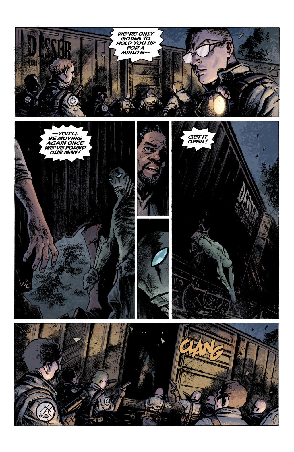 Read online Abe Sapien comic -  Issue #1 - 23