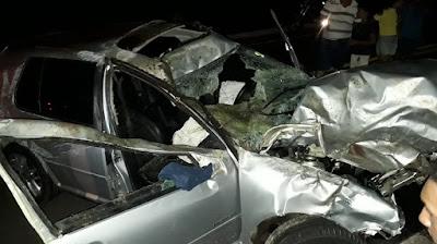 ARAGUATINS: Acidente deixa 2 homens feridos e cavalos mortos