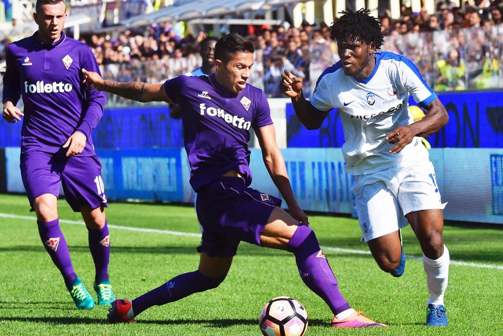 Salcedo en Fiorentina.