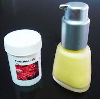loción antiaging con coenzima q10