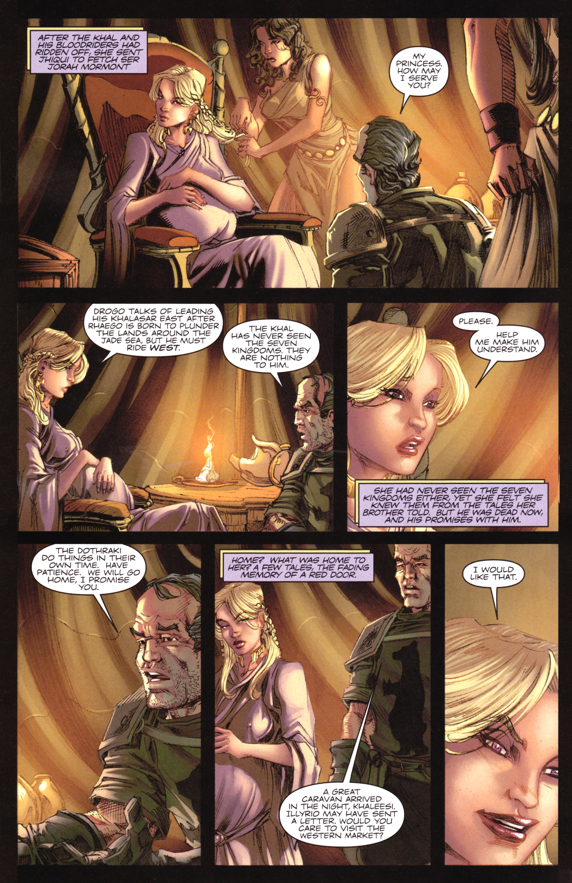 Read online A Game Of Thrones comic -  Issue #17 - 26