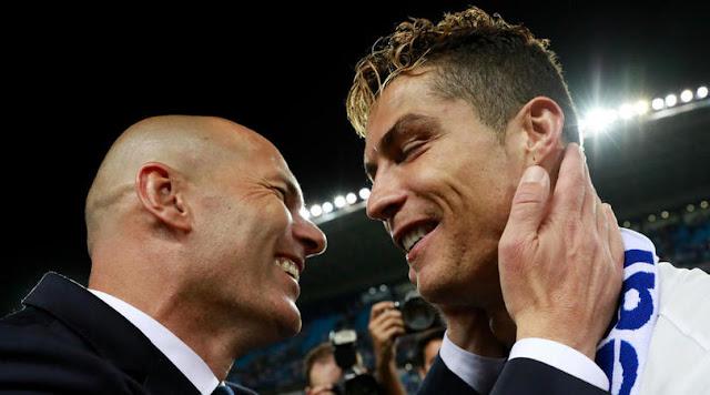 image of Kapanpun Ronaldo dan Zidane Boleh Pulang ke Real Madrid