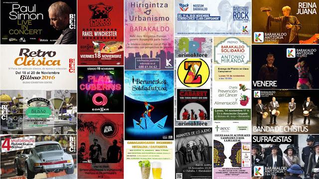 Agenda de cultura y ocio de Barakaldo