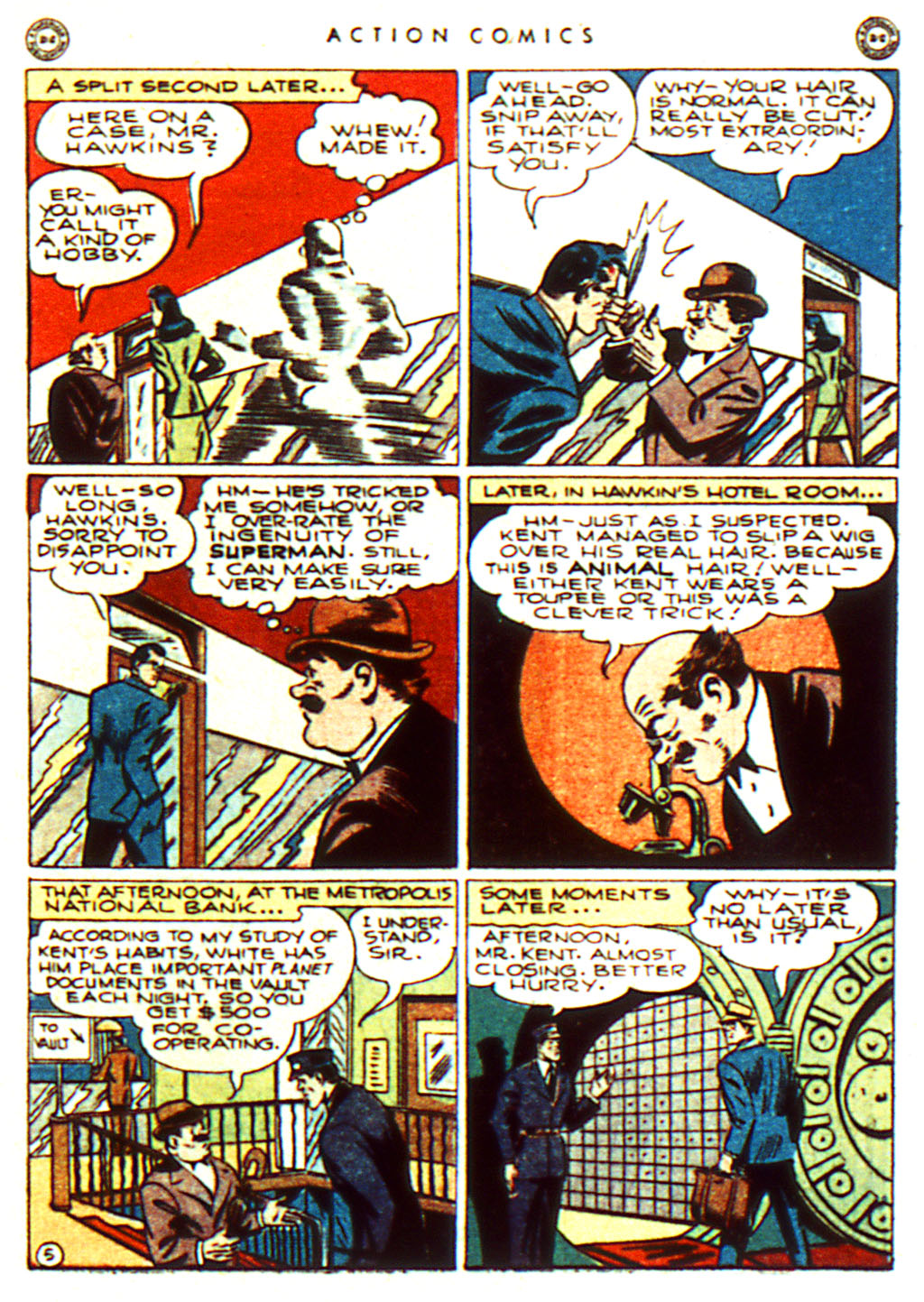 Read online Action Comics (1938) comic -  Issue #100 - 7