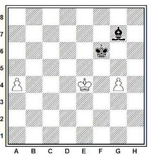 Problema ejercicio de ajedrez número 795: Estudio de H. Otten (1892)