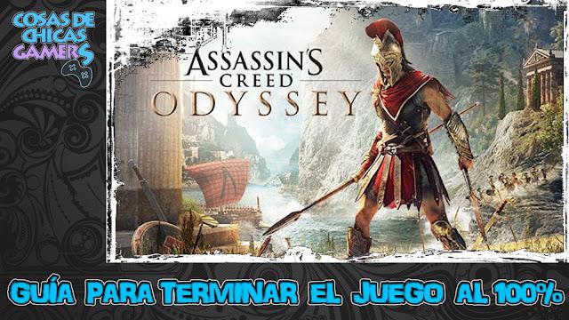 Guía Assassins Creed Odyssey - Completar juego al 100%