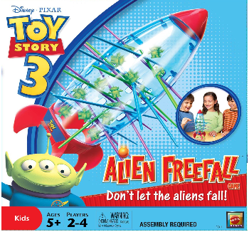 The Playful Otter Kerplunk Toy Story Alien Freefall