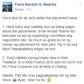 Rumors Claim Maxine Medina Placed as the 3rd Runner-Up in the 65th Miss Universe Pageant! Is This True?