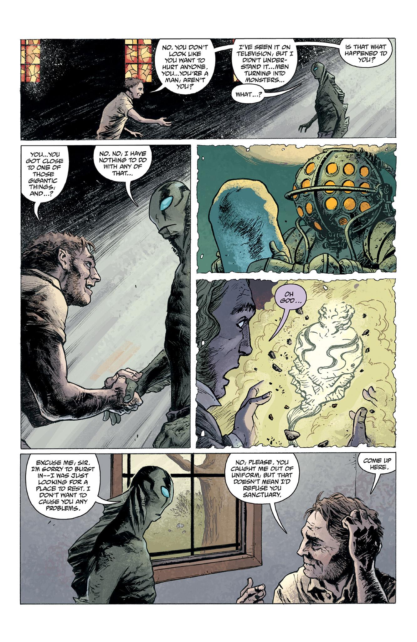 Read online Abe Sapien comic -  Issue #2 - 11