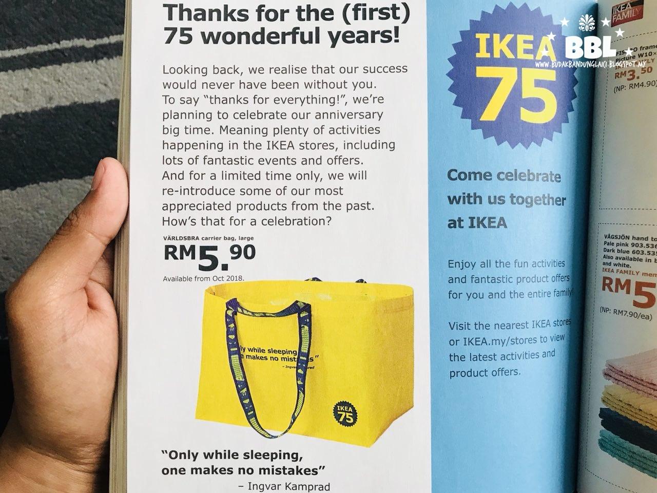 Katalog Ikea 2019 Dah Sampai Rumah Budak Bandung Laici