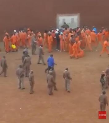 (Video) Violent chaos as riot breaks out at Pretoria prison