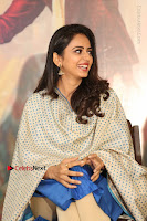 Actress Rakul Preet Singh Stills in Blue Salwar Kameez at Rarandi Veduka Chudam Press Meet  0039.JPG