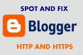 BLOGGER SPOT AND FIX