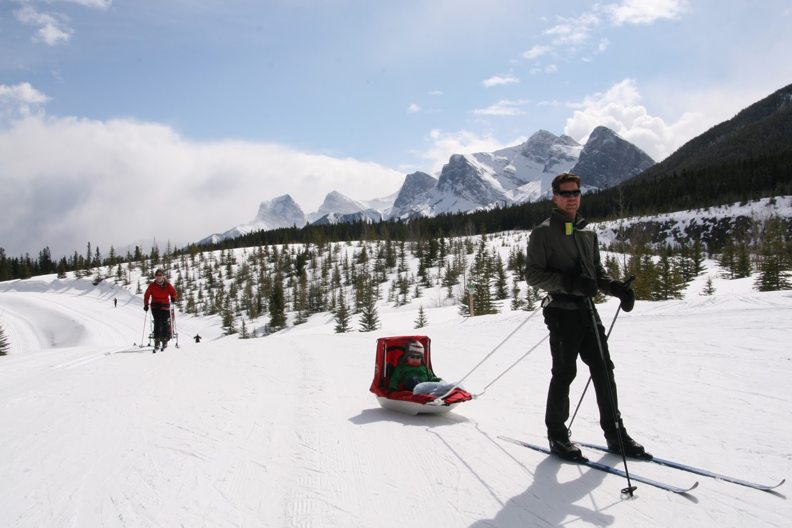 Family Adventures in the Canadian Rockies: Family Cross