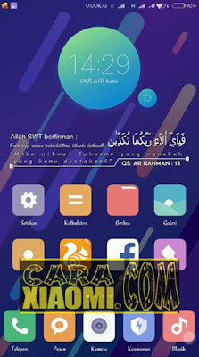 Screenshoot Widget Al-Quran Surrah(An-nisa, Ar-rahman, Yassin) ZW For Zooper Widget Android