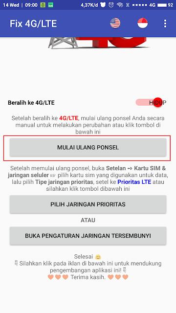 Fix 4G LTE