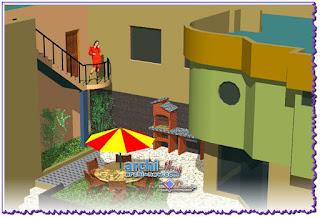 Casa-M-Melgar-3d-courtre-modeling