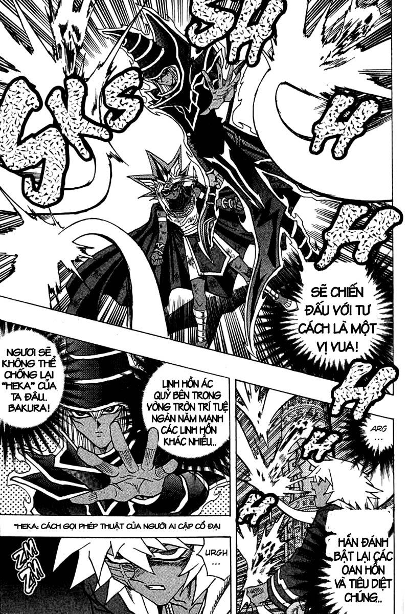 YUGI-OH! chap 314 - trận chiến với linh hồn siêu quái thú trang 8
