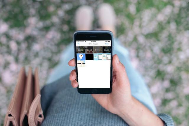 Cara menyimpan gambar dari situs web di iPhone Cara menyimpan gambar dari situs web di iPhone / iPad
