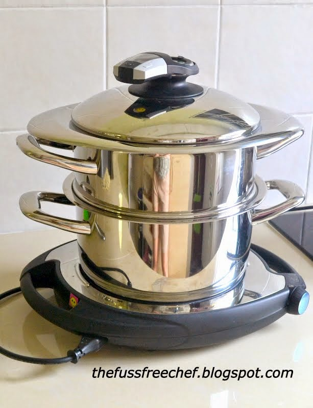 the FUSS FREE chef: Three Tier Cooking with AMC